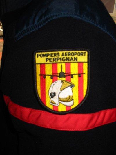Ecussons Pompiers  Aéroport de Perpignan