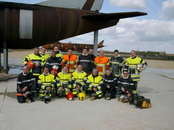 Recyclage pompiers d'aérodrome
