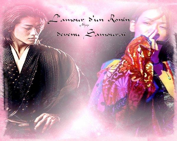 ☠☠ L'amour d'un Ronin devenu Samouraï ☠☠