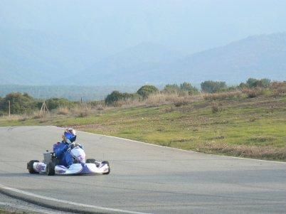 Test sonic racing kart