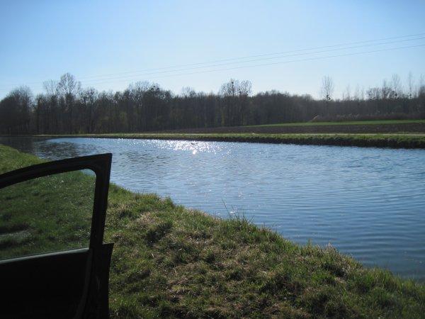 première sortie au canal