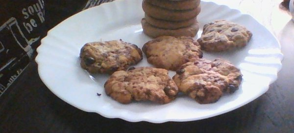 Cookies façon biscuits secs.