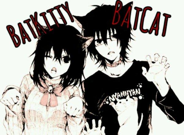 BatCat (me) & Batkitty (LeeUta)