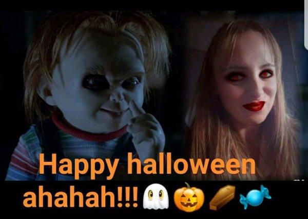Happy halloween!!!ahahah