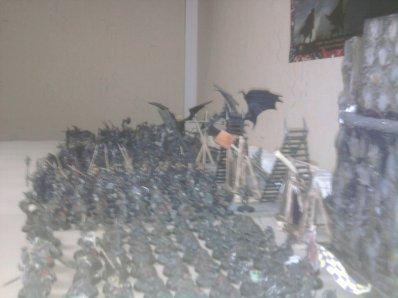 pour la bataille du 21 et 22 les armée présente