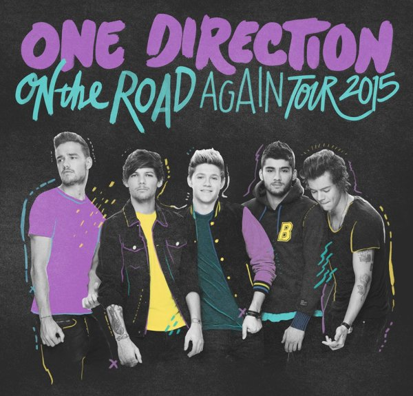 One Direction Tournée 2015