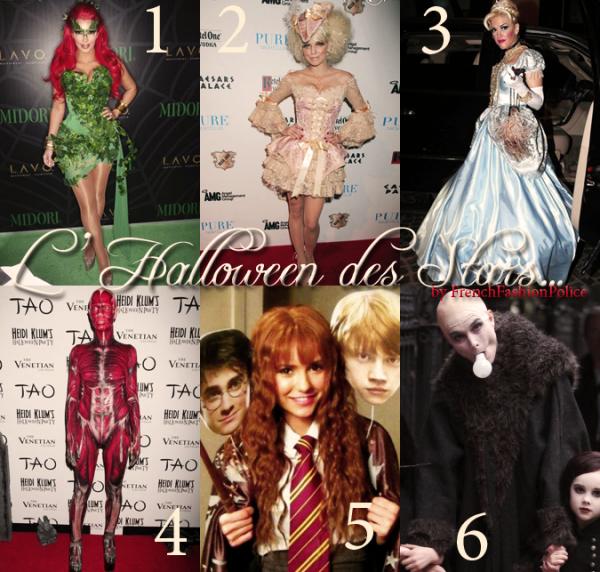 Les stars et Hallowen..
