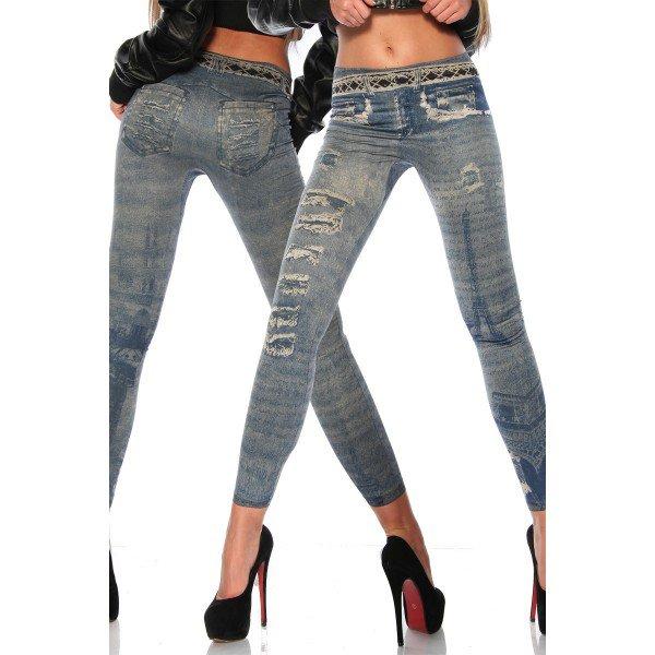 Legging ? Jeans ? Non , un jegging !