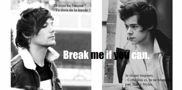 break me if you can