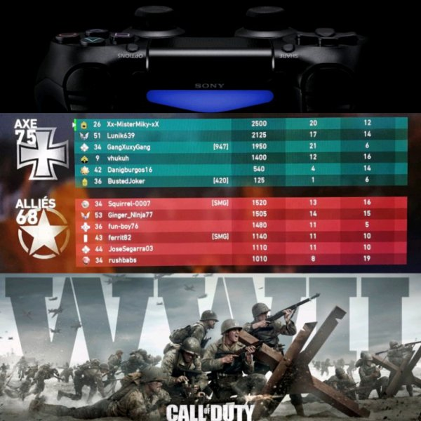 Call of duty ww 2 sur ps4 ❤️