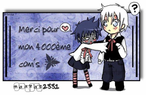 4000ème com's O_o