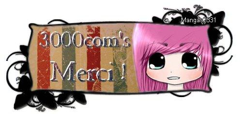 3000 com's O_o