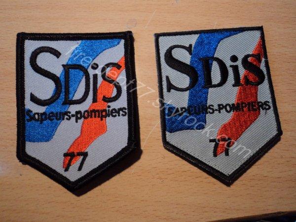 Nouvel écusson SDIS 77