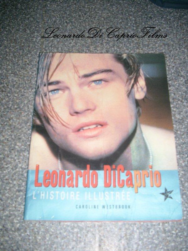 Mes deux livres sur LéonardoDiCaprio + Vidéo Coup de Coeur ! (: <3