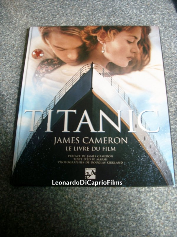 Encore un petit Bêtisier de la Troupe du Titanic + Mon Livre du Film Titanic ! (: ♥