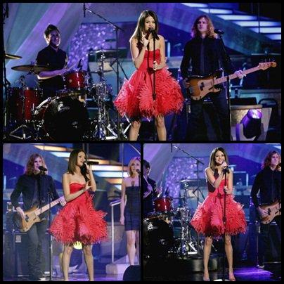 05 avril : Selena dans l'émission américaine « Danse avec les stars«
