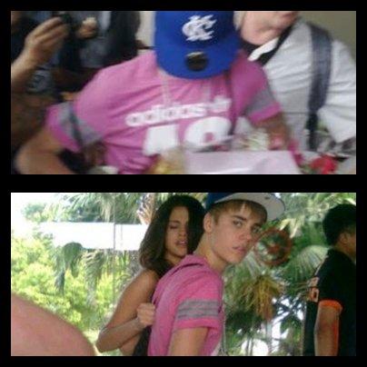 Le 22 Avril : Le couple Jelena a été aperçu ensemble à nouveau à l'aéroport Soetta en Indonésie. Après l'arrivée de la paire est allé à un restaurant local