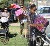 Dimanche 16 Octobre  2011 : Jessica & Cash ont emmenés Honor & Haven à un anniversaire au Park .