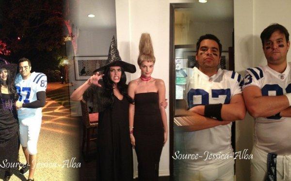 Samedi 29 Octobre  2011 : Jessica & Cash emmenant Honor & Haven au Park. Le soir , Jessica & Cash se sont rendus à la soirée organisée par Kate Hudson pour Halloween . Le Dimanche 30 Octobre , Jessica & Honor allant chercher un café dans Beverly Hills.Ce lundi 31 Octobre, Toute la famille est allée fêtés Halloween.