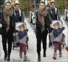 Samedi 17 Décembre  2011 : Jessica , Cash ,Haven & Honor allant faire du shopping dans West Hollywood.