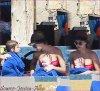 Samedi 31 Décembre 2011 : Jessica , Cash , Honor & Haven s'amusant à la piscine de Cabo san Lucas.