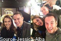 Samedi 14 Janvier 2012 : Jessica allant aux répétitions des Golden Globes 2012 dans Santa Monica .