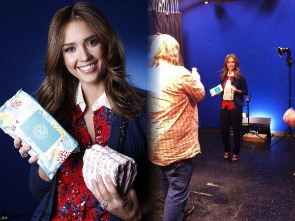 Mardi 17 Janvier 2012 : Jessica allant au Marta Stewart show , Pour ensuite se rendre au Piers Morganna CNN studios . Pour finir elle s'est rendue au dinner organisée par The Honest company