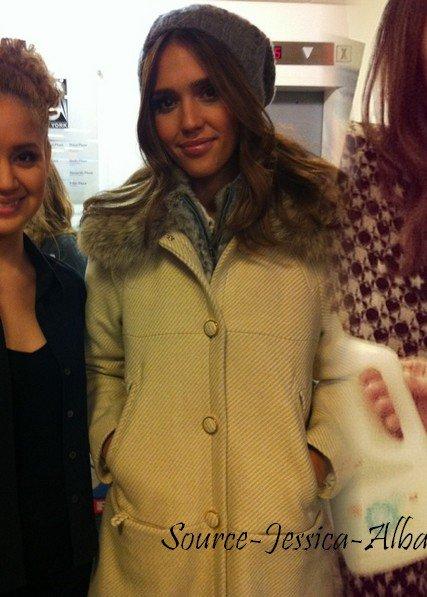 Jeudi 19 Janvier 2012 : Jessica allant à Fox Studios dans New-York .