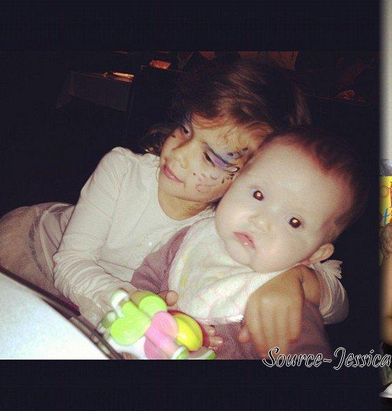 Dimanche 18 Mars 2012 : Jessica & Haven se rendant à la Baby shower de Jessica Simpson. Le soir , toute la petite famille est allée dinner au restaurant Genhis Cohen