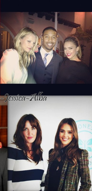 "Jeudi 12 Avril 2012 : Jessica se rendant au  "" Conde Nast Traveler Hot List Party"""