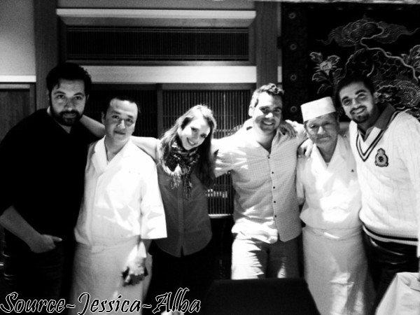 Jeudi 19 Avril 2012 : Jessica & sa famille dans Tokyo & Kyoto