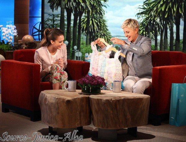 Mardi 1 er Mai 2012 : Jessica était au Ellen Degeneres Show