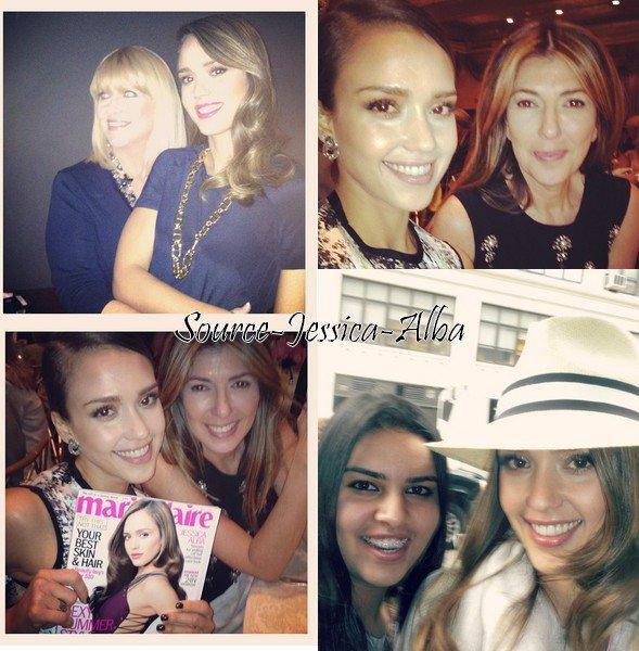 """Jeudi 10 Mai  2012 : Jessica sortant de son hotel pour se rendre au """" Outstanding Mother Awards """" .Elle s'est ensuite rendue au """" Anderson """" show."""