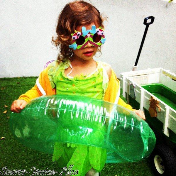 Samedi 12 Mai  2012 : Jessica & Cash emmenant leurs filles Haven & Honor au Parc