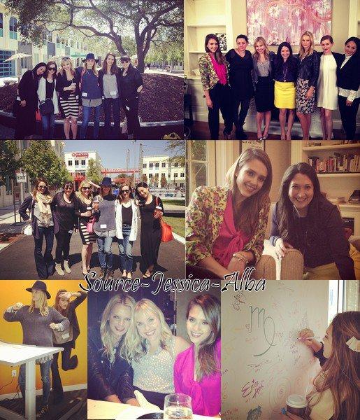 Mercredi 16 Mai  2012 : Jessica allant faire du shopping avec ses filles Honor & Haven au magasin Kitson