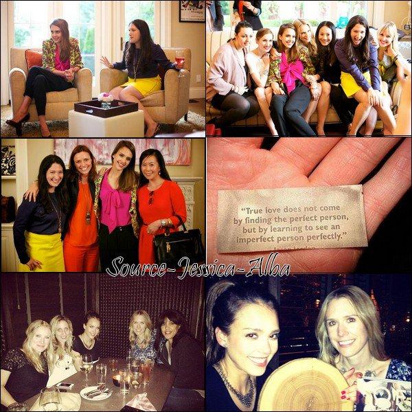 Jeudi 17 Mai  2012 : Jessica allant à un rendez-vous professionel