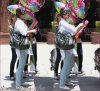 Samedi 9 Juin  2012 : Jessica , Cash , Honor & Haven arrivant à une fête pour l'anniversaire de Honor