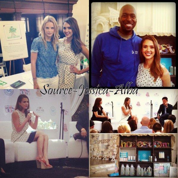 """Dimanche 10 Juin  2012 : Jessica s'est rendue à l'evenement """"Plush"""""""
