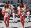 Mercredi 27 Juin 2012 : Jessica & ses filles Honor & Haven dans Beverly Hills . Ensuite , Jessica s'est rendue à son bureau