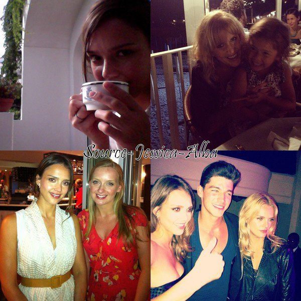 Jeudi 12 Juillet 2012 : Jessica , Honor , Haven , Lindsey & Cathy visitant Amalfi en Italie