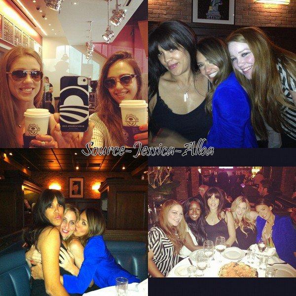 Mercredi 8 Août 2012 : Jessica sur un tournage dans Beverly Hills .