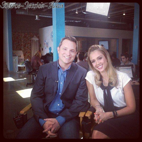 Mardi 4 Septembre 2012 : Jessica se rendant à son bureau dans Santa Monica