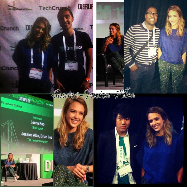 Lundi 10 Septembre 2012 : Jessica était au TechCrunch Disrupt SF 2012 à San Francisco