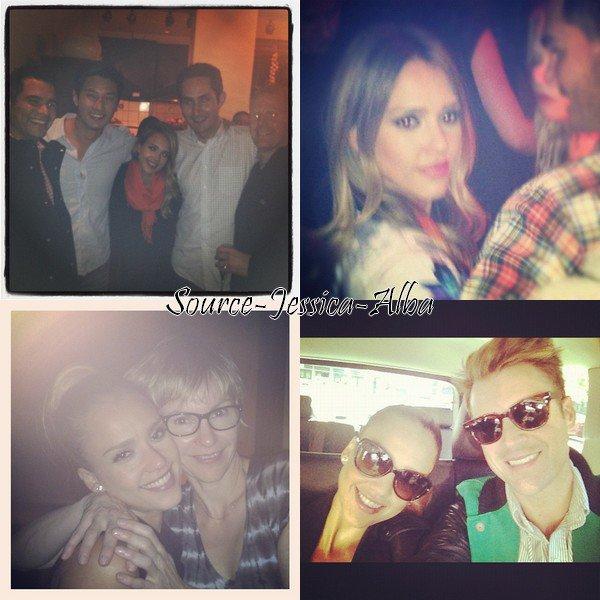 Jeudi 13 Septembre 2012 : Jessica se rendant à la fashion week pour assister au défilé de Ralph Lauren . Elle s'est ensuite baladée dans New York