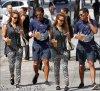 Vendredi 14 Septembre 2012 : Jessica & le frère de Cash allant chez Starbuck Coffee et se promenant dans New York