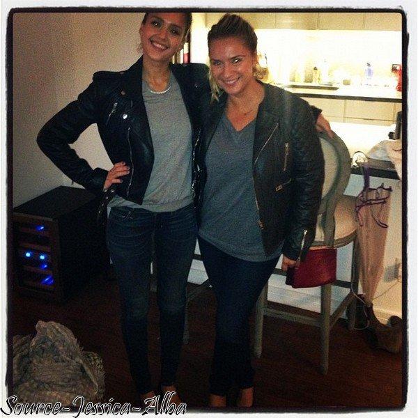 Jeudi 4 Octobre 2012 : Jessica & Haven se balladant dans Soho .