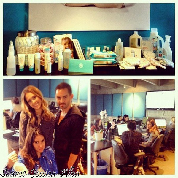 Mardi 9 Octobre 2012 : Jessica allant à son bureau dans Santa Monica .
