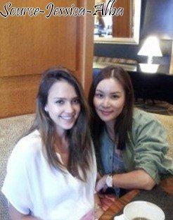 Lundi 26 Novembre 2012 : Jessica se rendant à un rendez-vous médical à l'hopital Cedar Sinai .