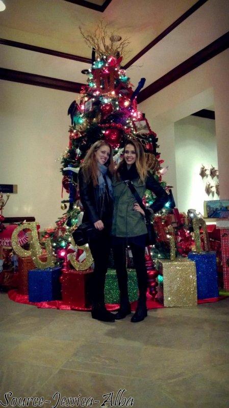 Samedi 1er Décembre 2012 : Jessica arrivant à Lax Aéroport après son séjour au Texas