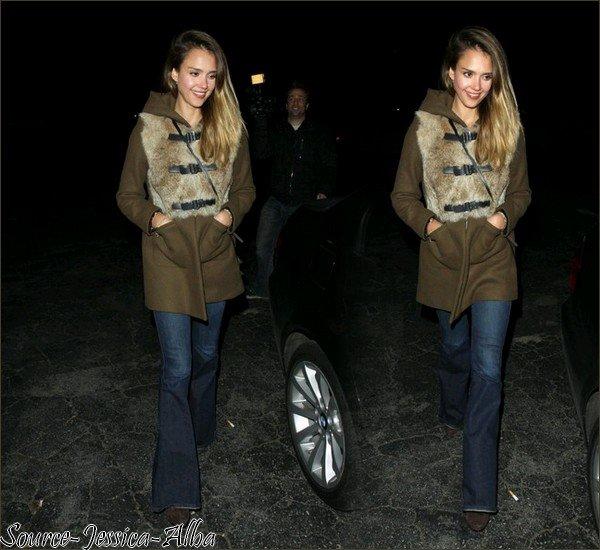 Mercredi 9 Janvier 2013 : Jessica allant à son bureau